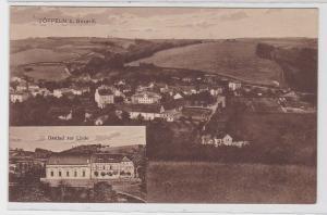84186 Ak Töppeln b. Gera-R. Gasthof zur Linde um 1920