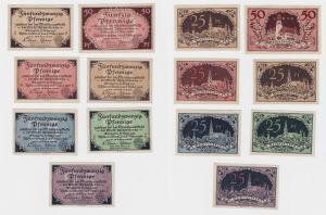 7 Banknoten Notgeld Stadt Aschersleben 5.März 1920 (119834)