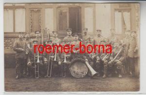 81549 Feldpost Ak Merzig Saar Militär Orchester 1916