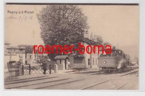 81381 Ak Pagny a.d. Mosel Bahnhof 1916