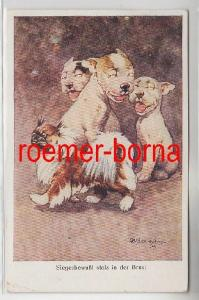 82186 Humor Ak Bulldogge Bonzo