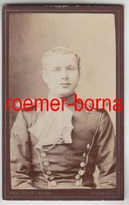 82219 Kabinett Foto Soldat Ulanen Regiment 16 Salzwedel