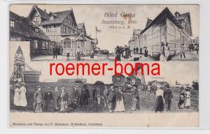 81610 Mehrbild Ak Inselsberg Thüringen Hotel Gotha 1905