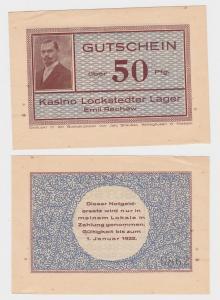 50 Pfennig Banknote Kasino Lockstedter Lager Emil Rachow (120844)