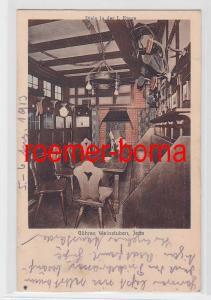 81820 Ak Jena Göhres Weinstuben Diele in der 1. Etage 1913
