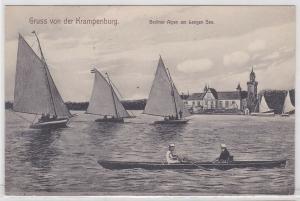 87087 AK Gruss von der Krampenburg - Berliner Alpen am Langen See 1908