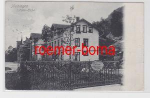 81709 Ak Meinigen Schiller-Eiche 1909