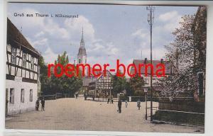 81847 Ak Gruss aus Thurm im Mülsengrund um 1910