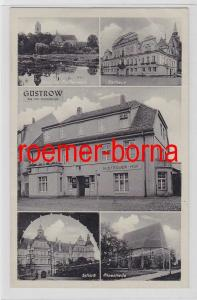 81465 Mehrbild Ak Güstrow i. Meckl. Rostockerstr. 30 Güstrower Hof um 1930