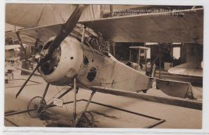 83078 Foto Ak Französ. Nieport Doppeldecker abgeschossen durch Boelke um 1915
