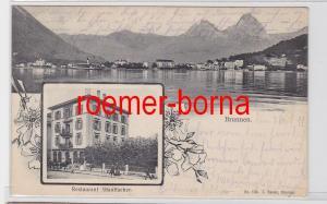 81019 Ak Brunnen Restaurant Stauffacher 1912