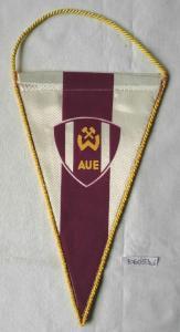Seltener DDR Wimpel Sportverein Wismut Aue (106053)