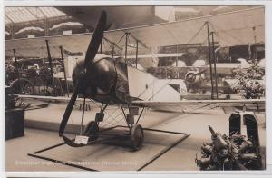 82150 Foto Ak Erbeuteter engl. Avro Doppeldecker (Gnome Motor) um 1915