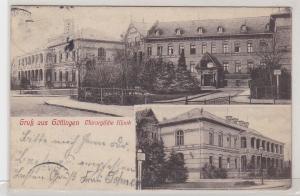 91424 AK Gruß aus Göttingen - Chirurgische Klinik, Außenansichten 1909
