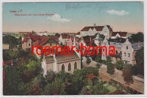 81861 Ak Lissa in P. Villenviertel mit Lehrerinnen Seminar 1916