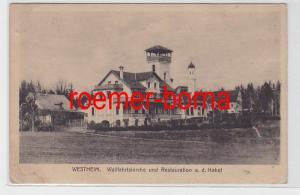 78939 Ak Westheim Wallfahrtskirche und Restauration a.d. Kobel 1919
