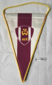 Seltener DDR Wimpel Sportverein Wismut Aue (101726)
