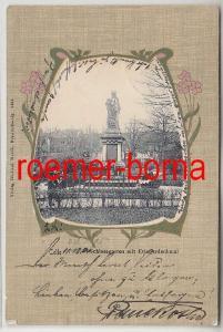 81860 Ak Celle Schlossgarten mit Kriegerdenkmal 1905