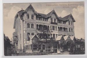 90937 Ak Seebad Ahlbeck Erholungsheim deutscher Buchhändler 1913