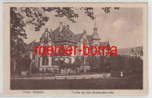 37380 Ak Hann.Münden Partie an der Bismarckstrasse 1929