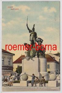 81863 Ak Eger Erlau in Ungarn Dobó Szobor Kriegerdenkmal 1910