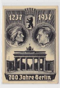 90593 Ak 700 Jahre Berlin 1237-1937 Brandenburger Tor