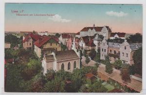 91878 AK Lissa (Leszno) in Posen - Villenviertel mit Lehrerinnen-Seminar 1916