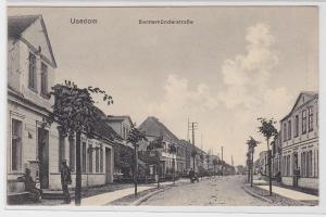 90942 Ak Usedom Swinemünderstrasse 1910