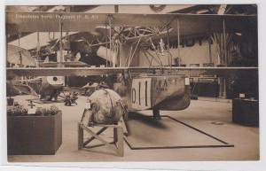 75221 Foto Ak Erbeutetes franz. Flugboot F.B.A. um 1915