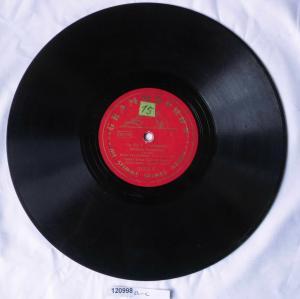 120998 Schellackplatte