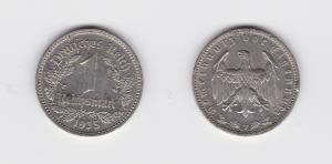 1 Mark Nickel Münze 3.Reich 1935 J, Jäger 354 (131094)