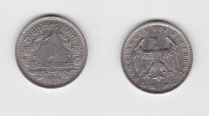 1 Mark Nickel Münze 3.Reich 1935 A, Jäger 354 (135453)