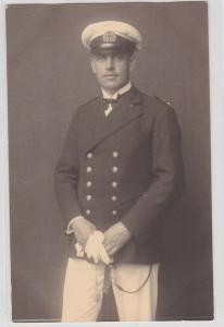 81047 Porträt Foto Ak Reichswehr Soldat Matrose Wilhelmshaven 1930