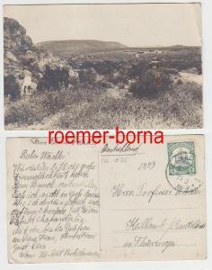 81918 Ak Deutsch-Südwestafrika Farm Osombahe Okahandia mit Stempel Waldau 1914