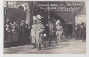 84888 Foto Ak Bersetzungsfeierlichkeiten der Deutschen Kaiserin