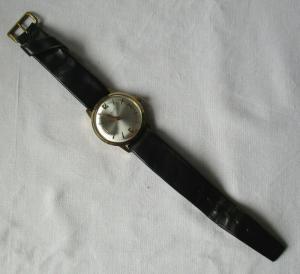 Seltene Raketa Armbanduhr UdSSR 16 jewels Handaufzug (121692)