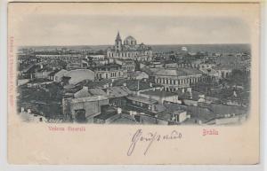 49248 Feldpost Präge Ak Brăila Vederea Generală 1918