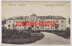 83203 Ak Mühlbach Szászsebes Rumänien Sophien Spital 1918