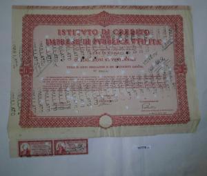 6% Aktie Istituto di Credito per le Imprese di Pubblica utilita Rom 1948 /127778