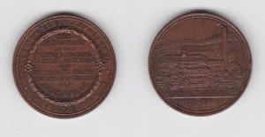 Medaille Holzstoff & Papierfabrik zu Schlema bei Schneeberg 1871-1896 (135466)