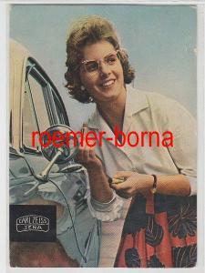 12103 Reklame Ak Carl Zeiss Jena Fotohaus Aedtner aus Altenburg 1966