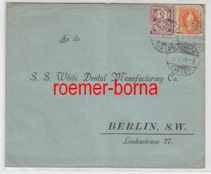 83226 seltener Brief Schweiz nach Berlin 5.5.1898