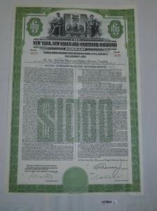 1000 Dollar Aktie New York, New Haven and Hartford Railroad 1. Jan 1953 (127864)