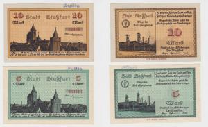 5 und 10 Mark Banknoten Notgeld Stadt Staßfurt 1.10.1918 (121926)