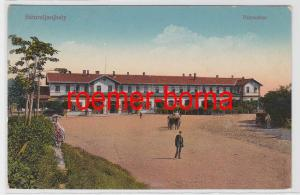 83101 Ak Sátoraljaújhely Ungarn Palyaudvar um 1910