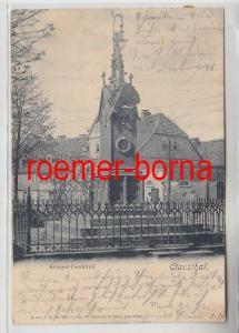 48226 Ak Clausthal Krieger-Denkmal 1900