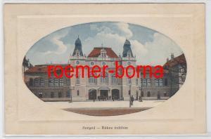 83105 Ak Szeged Ungarn Rókus Indóház 1914