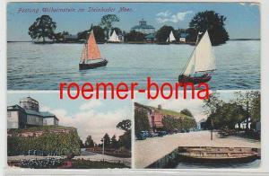 83009 Mehrbild Ak Festung Wilhelmstein im Steinhuder Meer 1916