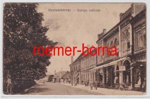 83338 Ak Gyulafehérvár Ungarn Europa Szalloda um 1915