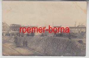 72219 Feldpost Foto Ak Kriegsgefangenenlager im 1.Weltkrieg